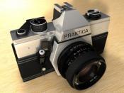 Praktika Kamera texturiert