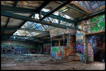 Fabrikgebäude DRI