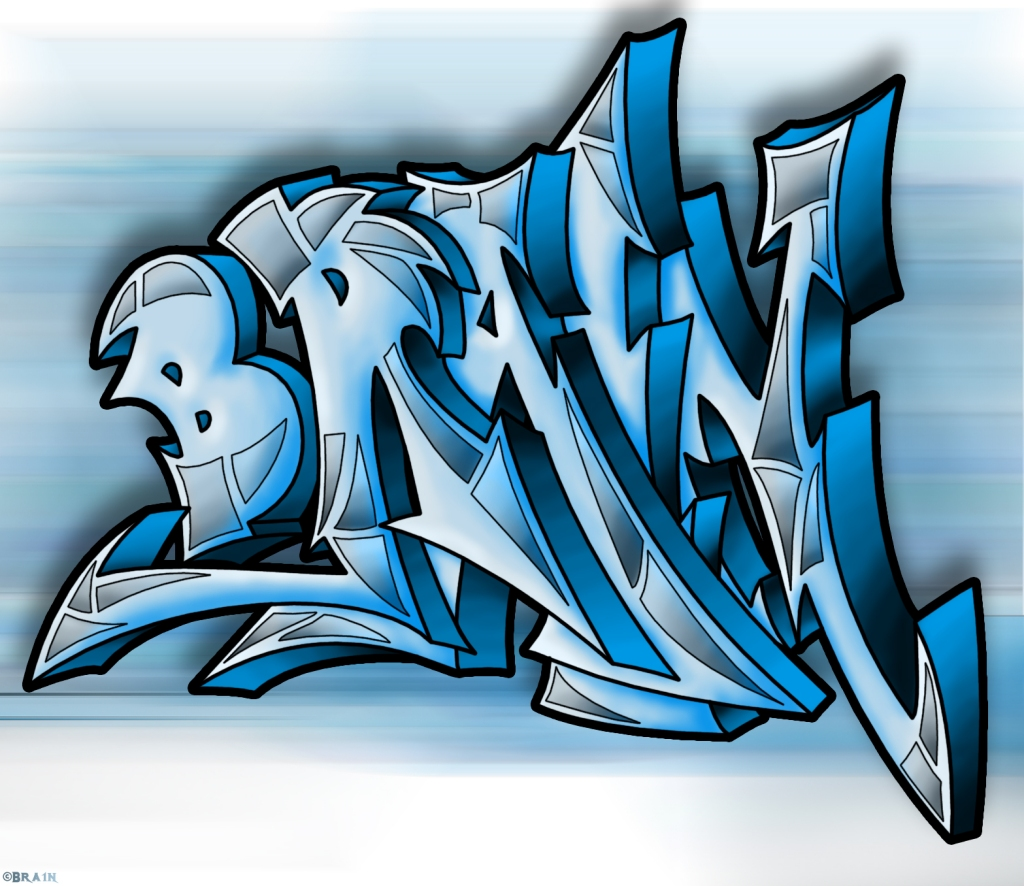 Draw Graffiti Names