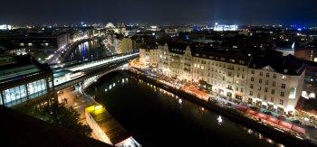 Berlin im nächtlichen Glanz