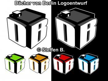Dächer von Berlin Logoentwurf