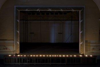 Lichtspektakel auf der Theaterbühne