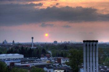 HDRI mit Sonnenuntergang