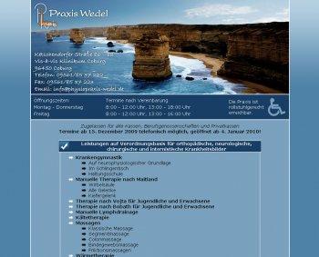 PhysioPraxis Wedel - www.physiopraxis-wedel.de
