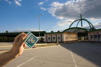 Ein Plakette für die Autobahnen in der Slowakei
